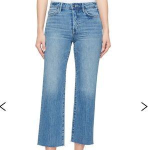 Sam Edelman Chelsea wide leg crop Jeans Size 28